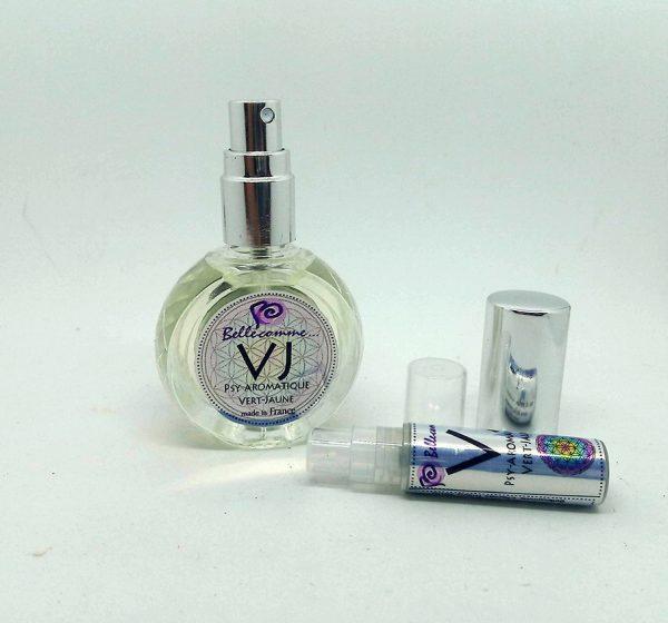 parfum Vert-Jaune 2 et 10 ml