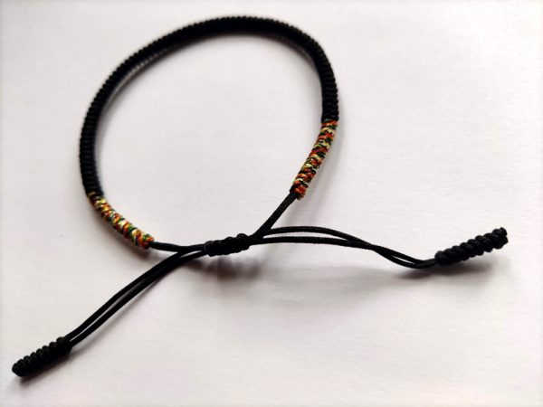 Bracelet tibétain Noir